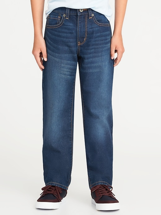 Straight Fit Rigid Jeans For Boys by Old Navy