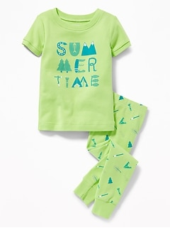 """Summertime"" Sleep Set for Toddler & Baby"