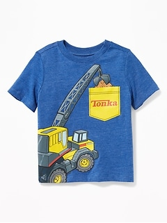 Tonka&#153 Excavator-Graphic Tee for Toddler Boys