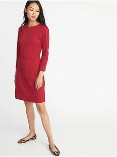 5811a249926 Ponte-Knit Sheath Dress for Women