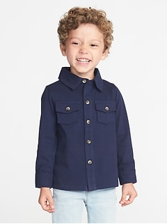 Jersey Pocket Shirt for Toddler Boys