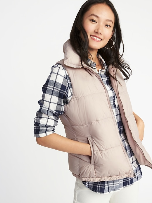 Performance Fleece Lined Frost Free Vest For Women by Old Navy