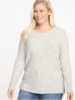 Plus-Size Cozy Sweater