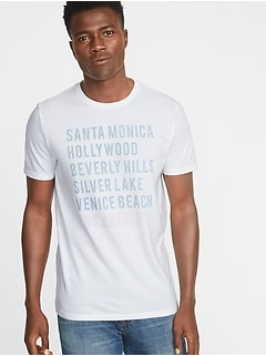 Los Angeles Graphic Tee for Men