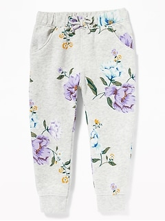 Graphic Joggers for Toddler Girls