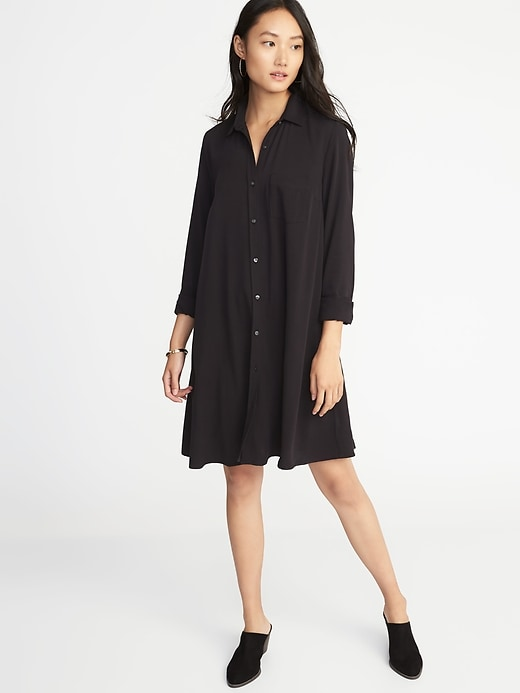 Swing Shirt Dress For Women by Old Navy