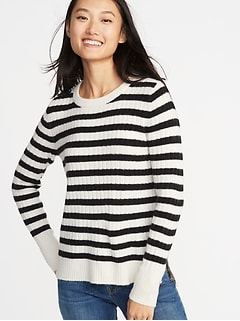 Cozy Crew-Neck Sweater for Women