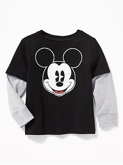 Disney&#169 Mickey Mouse 2-in-1 Tee for Toddler Boys