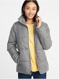 Frost-Free Heathered Jacket for Women