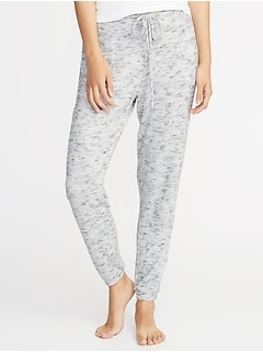 Plush-Knit Lounge Joggers for Women