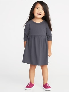 Jersey Babydoll Dress for Toddler Girls