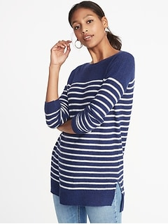 Classic Boat-Neck Sweater for Women