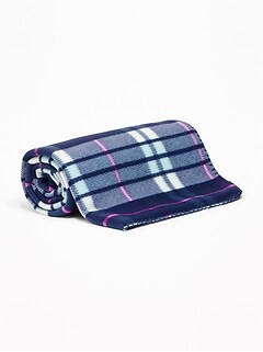Patterned Performance Fleece Blanket
