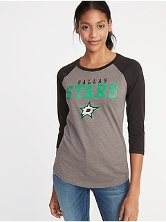 NHL&#174 Team-Graphic Raglan Tee for Women