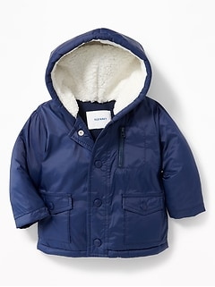 Hooded Frost-Free Puffer Jacket for Baby