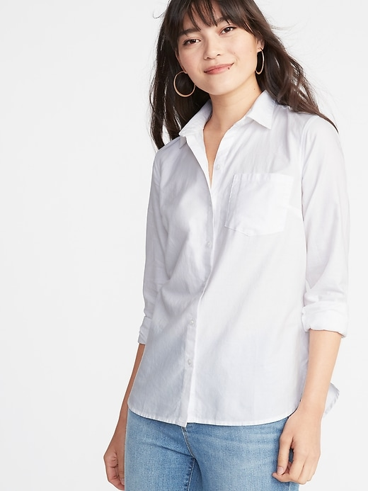 1568c22b0a2 Relaxed Classic Shirt for Women
