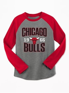 NBA® Team-Graphic Raglan-Sleeve Tee for Boys