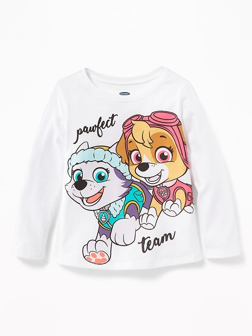 "Paw Patrol&#153 ""Pawfect Team"" Tee for Toddler Girls"