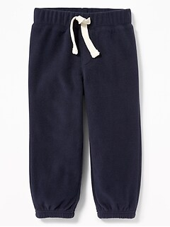 Micro Performance Fleece Joggers for Toddler Boys