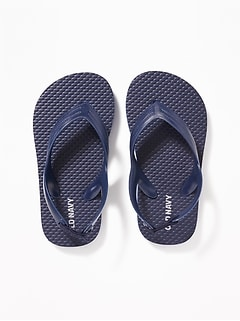 4316b308f3a88e Solid-Color Flip-Flops for Toddler Boys