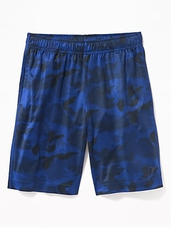 Go-Dry Cool Camo Shorts for Boys