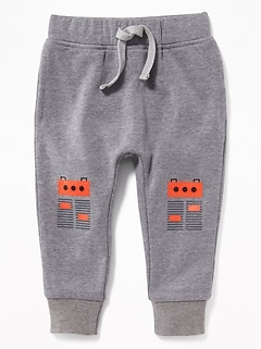 Critter-Graphic Joggers for Toddler Boys