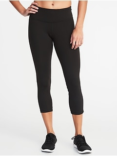 0f62ed8aa77fb Old Navy > Shopping Index > Bottoms > Leggings > Capri Leggings For Women.  Mid-Rise Elevate Compression Crops for Women