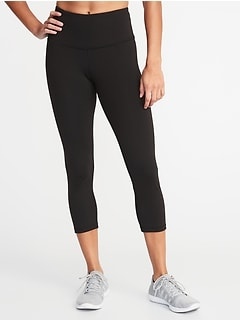 High-Rise Elevate Compression Crops for Women