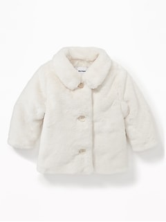 Faux-Fur Jacket for Baby
