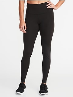 High-Waisted Elevate Compression Leggings For Women