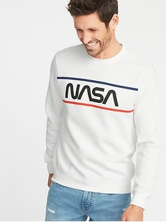 NASA&#174 Graphic Sweatshirt for Men