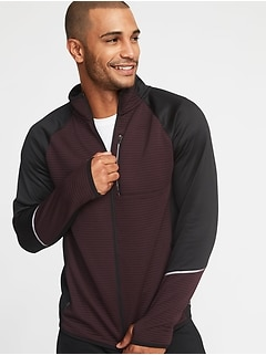 Go-Warm Mock-Neck Performance Zip Jacket for Men