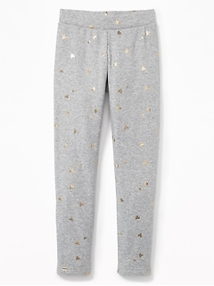Cozy-Lined Fleece Leggings for Girls
