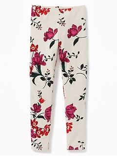 Printed Full-Length Leggings for Girls