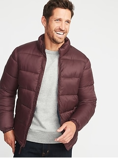 Nylon Frost-Free Puffer Jacket for Men
