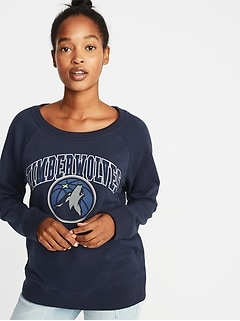 NBA® Team-Graphic Sweatshirt for Women