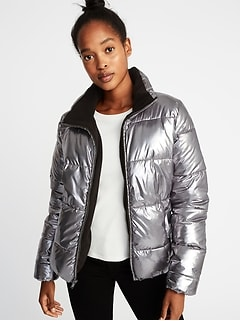 Metallic Frost-Free Jacket for Women