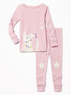 Llama Sleep Set for Toddler & Baby