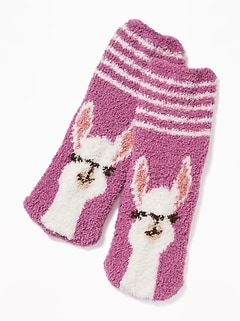 Graphic Cozy Socks for Kids