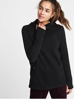 Sweater-Fleece Pullover Hoodie for Women