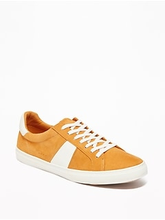 Faux-Suede Classic Sneakers for Women