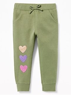 Fleece Joggers for Toddler Girls