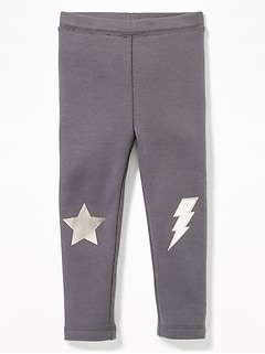 Cozy-Lined Leggings for Toddler Girls