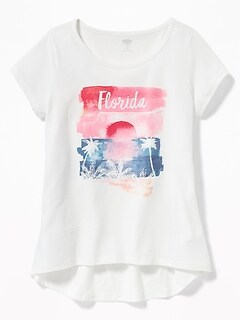 Florida Graphic Tee for Girls