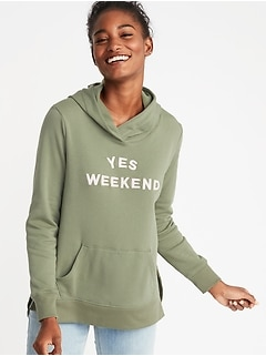 Relaxed Pullover Hoodie for Women