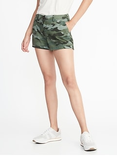Mid-Rise Everyday Shorts For Women - 5 inch inseam