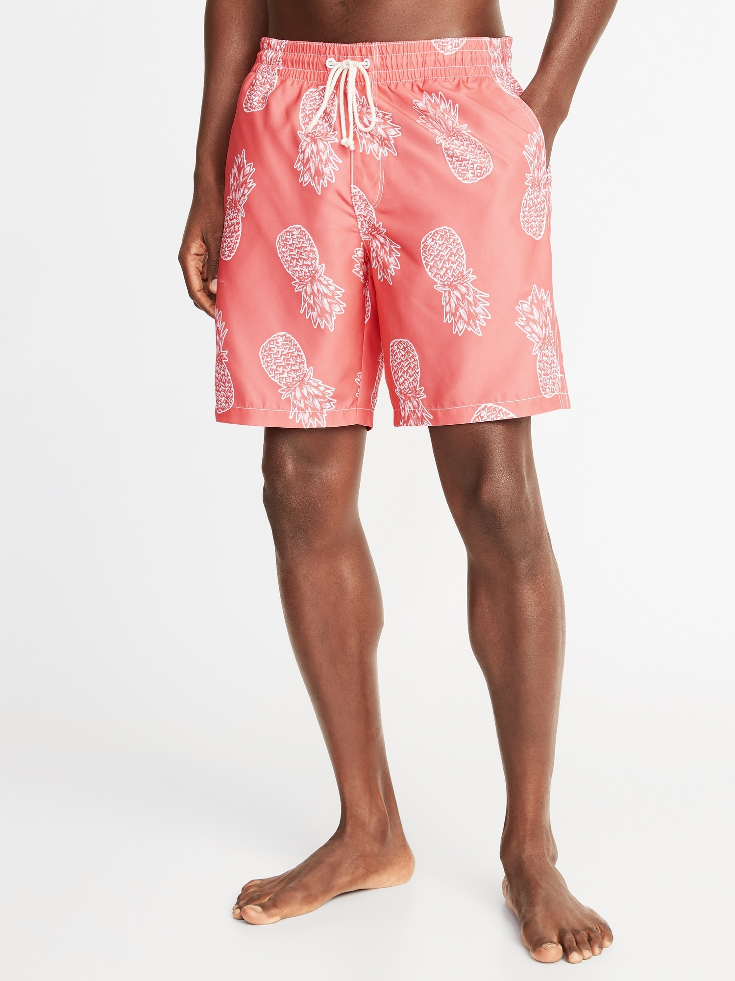 4c92bfb9f1 Printed Swim Trunks for Men - 8-inch inseam | Old Navy