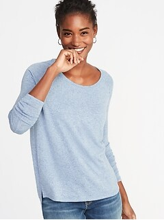 Loose Luxe Soft-Spun Tee for Women