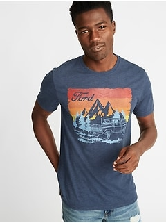 Ford&#174 Graphic Crew-Neck Tee for Men
