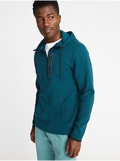 Dynamic Fleece 4-Way-Stretch 1/2-Zip Hoodie for Men